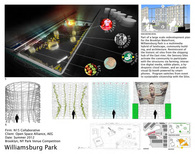 Multi Media Silos for Williamsburg Park