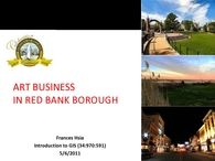 GIS: Art Business in Red Bank Borough, NJ
