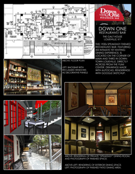 Down One restaurant/ bourbon bar