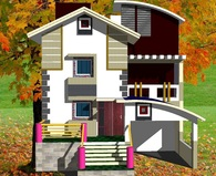 Residential house belongs to Mr. Ramesh at Ingle layout, Nandura