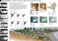 Sediment Engine - Planning for a Sustainable, Adapted, and Lively Urban Park for Oakland