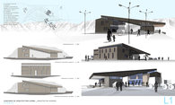 (2007) 3rd Place CORMA competition for young architects BORDER CROSSING PASS OFFICE