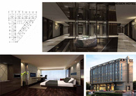 Meisen Hotel facade and interior design