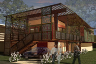 The Phoenix House: A Competition Winner at the Houston USGBC Level!!!