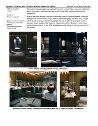 Egyptian Funerary Arts Gallery & Ancient Near East Gallery MFA