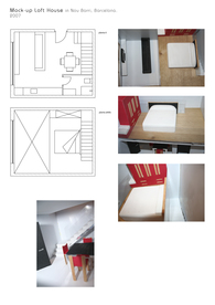 Mock-up Loft apartment 2007