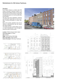 Refurbishment of an 18th Century Townhouse, Merrion Square, Dublin