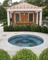 Hamptons Poolhouse
