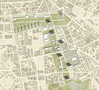 Projects for Milan. A possible expansion for the city