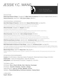 Resume 2016-2017 JYCWang