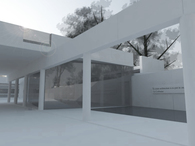 Museum Addition + study of parti