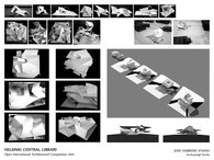 Helsinki Central Library Open International Architectural Competition 2012, Jose Oubrerie Studio