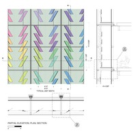 Dichroic Curtain Wall