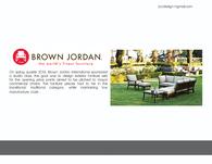 Brown Jordan Sponsor class
