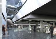 Dulles Concourse C APM Station . Kohn Pedersen Fox