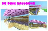 96 Pink Balloons