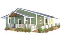 The Modern Mill House: A Southeastern Habitat for Humanity Prototype