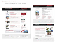 Christie's Extranet Design