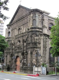The conservation and restoration of the facade of the Malate Church