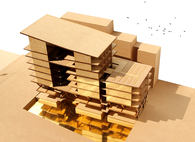 Mixed-Use Building: Housing, Office and Workshops