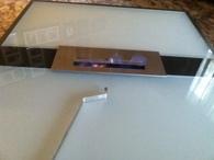 Coffee Table Acid & Painted Glass