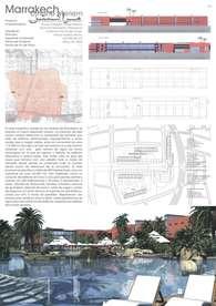 Hotel y desarrollo urbano de Djnane Meriem