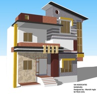 Residential house belongs to savale major at Ingle layout