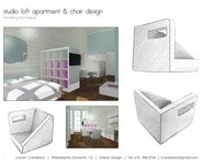 Studio Loft Apartment & Chair Design