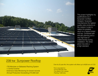 239 KW Sunpower Rooftop