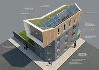 Zero-energy building