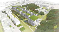 DHP Architects Urban Development Competition in Antwerp, Belgium