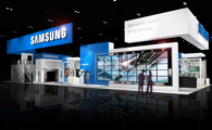 SAMSUNG - INFOCOMM trade show exhibit