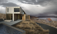 Rendering: house in Chile