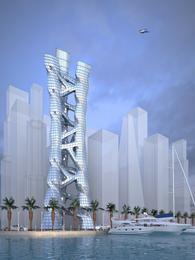 Triple Helix Tower