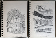 Sketches and paintings