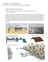 Digital Fabrication and Parametrics
