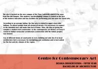 Center for Contemporary Art