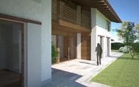 CLT single family home in Asolo, Italy.