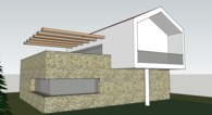 Proposal for a new house in Merkada, Greece