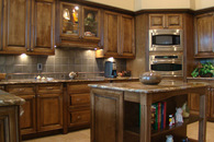 riggio residence custom kitchen