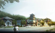 Mountain Forest Park (Phase III: Commercial Street)