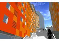 Social housing complex (44 apartments), facilities and Urbanization.