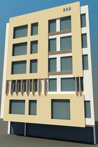 5-story Residential Building
