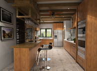 Moncupa kitchen design