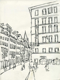 Rome Drawings