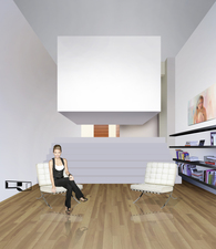 the cuBed loft - mono window concept loft in London