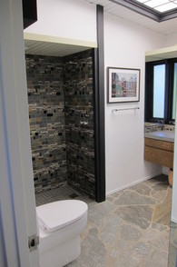 Dutch architect, John Sjoberg, bathroom remodel