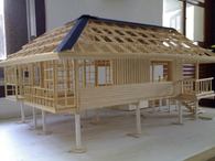 Wood Construction Study Model