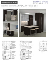 High Rise Residential Building - Kitchen, Bathroom & Amenity Lobby