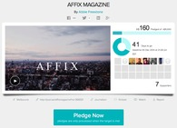 Affix Magazine - Crowd-Funding Campaign